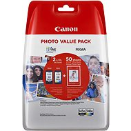 Canon PG-545XL + CL-546XL + fotopapír GP-501 Multipack - Cartridge