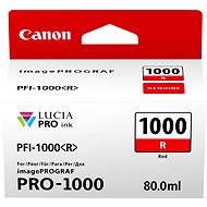 Canon PFI-1000R červená - Cartridge