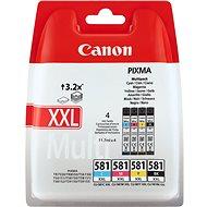 Canon CLI-581 C/M/Y/BK XXL Multipack - Cartridge