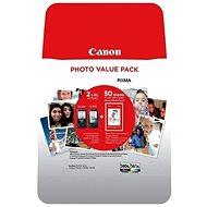 Canon PG-560XL/CL-561XL Multipack+ PP-201 10x15cm 50I