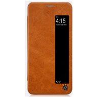 Nillkin Qin S-View pro Huawei P20 Brown - Pouzdro na mobilní telefon