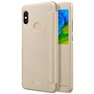 Nillkin Sparkle S-View pro Xiaomi Redmi Note 5 Gold - Pouzdro na mobilní telefon