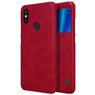 Nillkin Qin S-View pro Xiaomi Mi A2 Red - Pouzdro na mobilní telefon