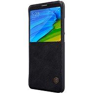 Nillkin Qin S-View pro Xiaomi Mi A2 Black - Pouzdro na mobilní telefon