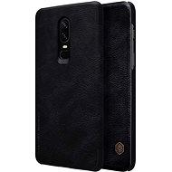 Nillkin Qin Book pro OnePlus 6 Black - Pouzdro na mobilní telefon