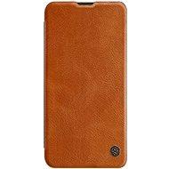 Nillkin Qin Book pro Samsung Galaxy A50 Brown - Pouzdro na mobilní telefon