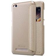 Nillkin Sparkle S-View Gold pro Xiaomi Redmi 4A - Pouzdro na mobilní telefon