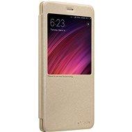 Nillkin Sparkle S-View pro Xiaomi Redmi Note 5A Prime Gold - Pouzdro na mobilní telefon