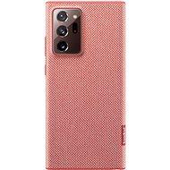 Samsung Ekologický zadní kryt z recyklovaného materiálu pro Galaxy Note20 Ultra 5G červený - Kryt na mobil