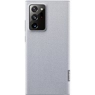 Samsung Ekologický zadní kryt z recyklovaného materiálu pro Galaxy Note20 Ultra 5G šedý