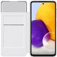 Samsung flipové pouzdro S View pro Galaxy A72 bílý - Pouzdro na mobil