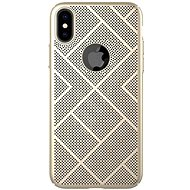 Nillkin Air case pro Apple iPhone XS Max Gold - Kryt na mobil