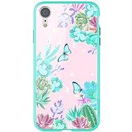Nillkin Floral Hard Case pro Apple iPhone XR green - Kryt na mobil