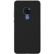 Nillkin Synthetic Fiber Ochranný Zadní Kryt Carbon pro Huawei Mate 20 black - Kryt na mobil
