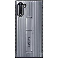 Samsung Tvrzený ochranný zadní kryt se stojánkem pro Galaxy Note10 stříbrný - Kryt na mobil