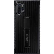 Samsung Tvrzený ochranný zadní kryt se stojánkem pro Galaxy Note10+ černý