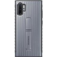 Samsung Tvrzený ochranný zadní kryt se stojánkem pro Galaxy Note10+ stříbrný
