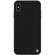 Nillkin Textured Hard Case pro Apple iPhone XS Max black - Kryt na mobil