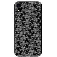 Nillkin Synthetic Fiber Plaid pro Apple iPhone XR black - Kryt na mobil