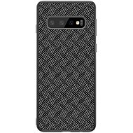 Nillkin Synthetic Fiber Plaid pro Samsung G975 Galaxy S10+ black - Kryt na mobil