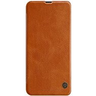 Nillkin Qin Book pro Samsung Galaxy M30 Brown - Pouzdro na mobilní telefon