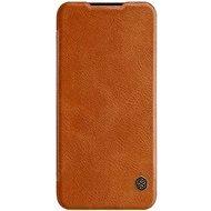 Nillkin Qin Book pro Xiaomi Mi A3 Brown - Pouzdro na mobilní telefon