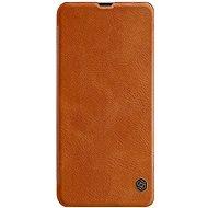 Nillkin Qin Book pro Samsung Galaxy A30 Brown - Pouzdro na mobilní telefon