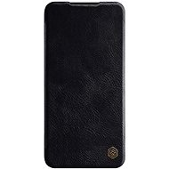 Nillkin Qin kožené pouzdro pro Xiaomi Redmi Note 8 Pro Black  - Pouzdro na mobil