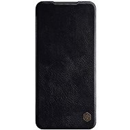 Nillkin Qin kožené pouzdro pro Xiaomi Redmi Note 9 Pro/Note 9S Black - Pouzdro na mobil