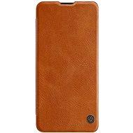 Nillkin Qin kožené pouzdro pro Samsung Galaxy A41 Brown - Pouzdro na mobil