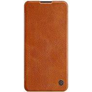 Nillkin Qin kožené pouzdro pro Samsung Galaxy A21 Brown - Pouzdro na mobil