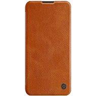Nillkin Qin kožené pouzdro pro Samsung Galaxy A11 Brown - Pouzdro na mobil
