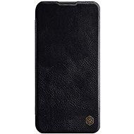 Nillkin Qin kožené pouzdro pro Huawei P40 Lite Black - Pouzdro na mobil