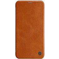 Nillkin Qin Book pro Apple iPhone 11 brown - Pouzdro na mobilní telefon