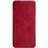 Nillkin Qin kožené pouzdro pro Huawei P40 Lite Red - Pouzdro na mobil