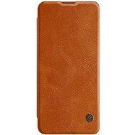 Nillkin Qin kožené pouzdro pro Xiaomi Mi 10/10 Pro Brown - Pouzdro na mobil