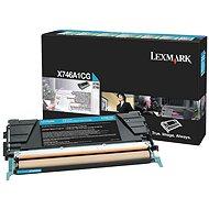 LEXMARK X746A1CG azurový - Toner