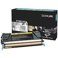 LEXMARK X746A1YG žlutý - Toner