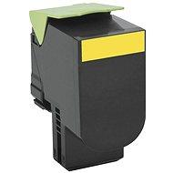 LEXMARK 80C20Y0 žlutý - Toner