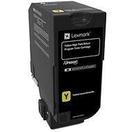 LEXMARK 74C2HY0 žlutý - Toner