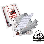 Economical radiator foils Radflek 3 pcs for 6 radiators and 2 pcs Radstik - - Accessories