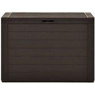 Garden storage box brown 78 x 44 x 55 cm - Storage Box