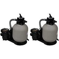 Písková filtrační čerpadla 2 ks 600 W 17 000 l/h - Filtrace