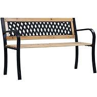 Zahradní lavice 120 cm dřevo - Zahradní lavice