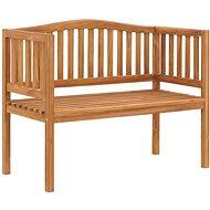 Garden Bench 120cm Solid Teak Wood