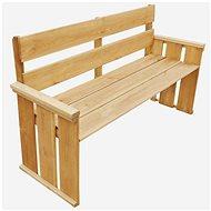 Garden Bench 160cm Impregnated Pine Wood