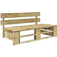 Zahradní lavice z palet dřevo - Zahradní lavice