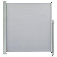 Terasová zatahovací boční markýza 140 x 300 cm šedá - Markýza