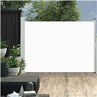 Zatahovací boční markýza/zástěna na terasu 120 x 500 cm krémová - Markýza