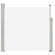 Zatahovací boční markýza/zástěna na terasu 170 x 300 cm krémová